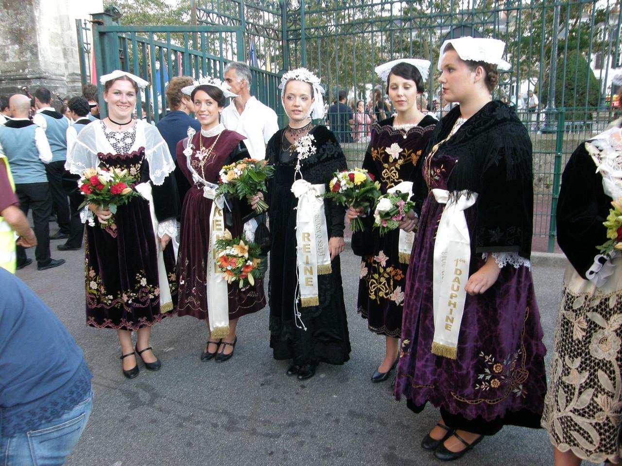 Les reines d'Arvor et Dauphines 2012-2013
