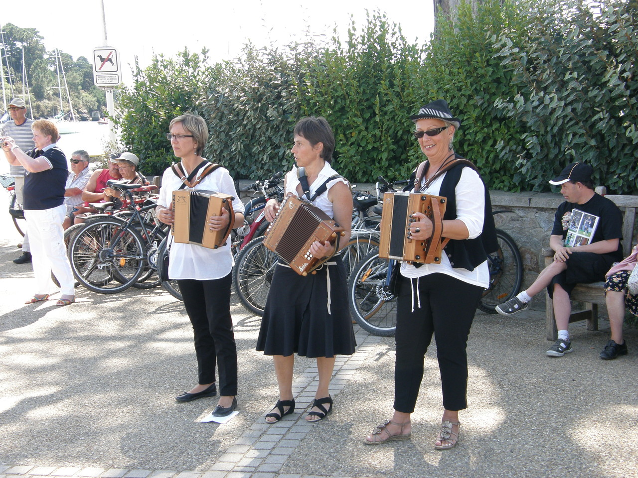 Nos accordéonistes se mettent en action