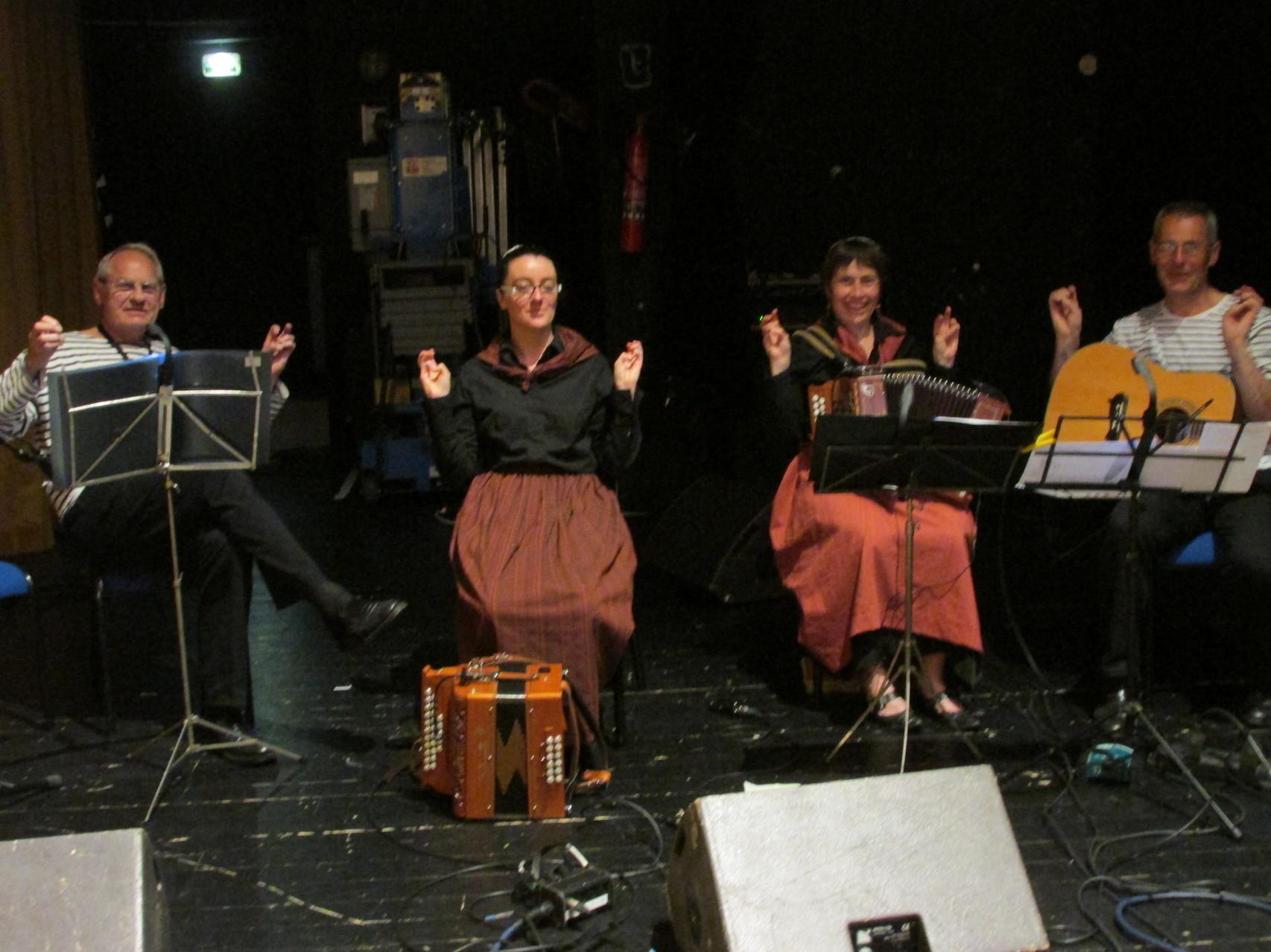 Les musiciens recherchent le Zen
