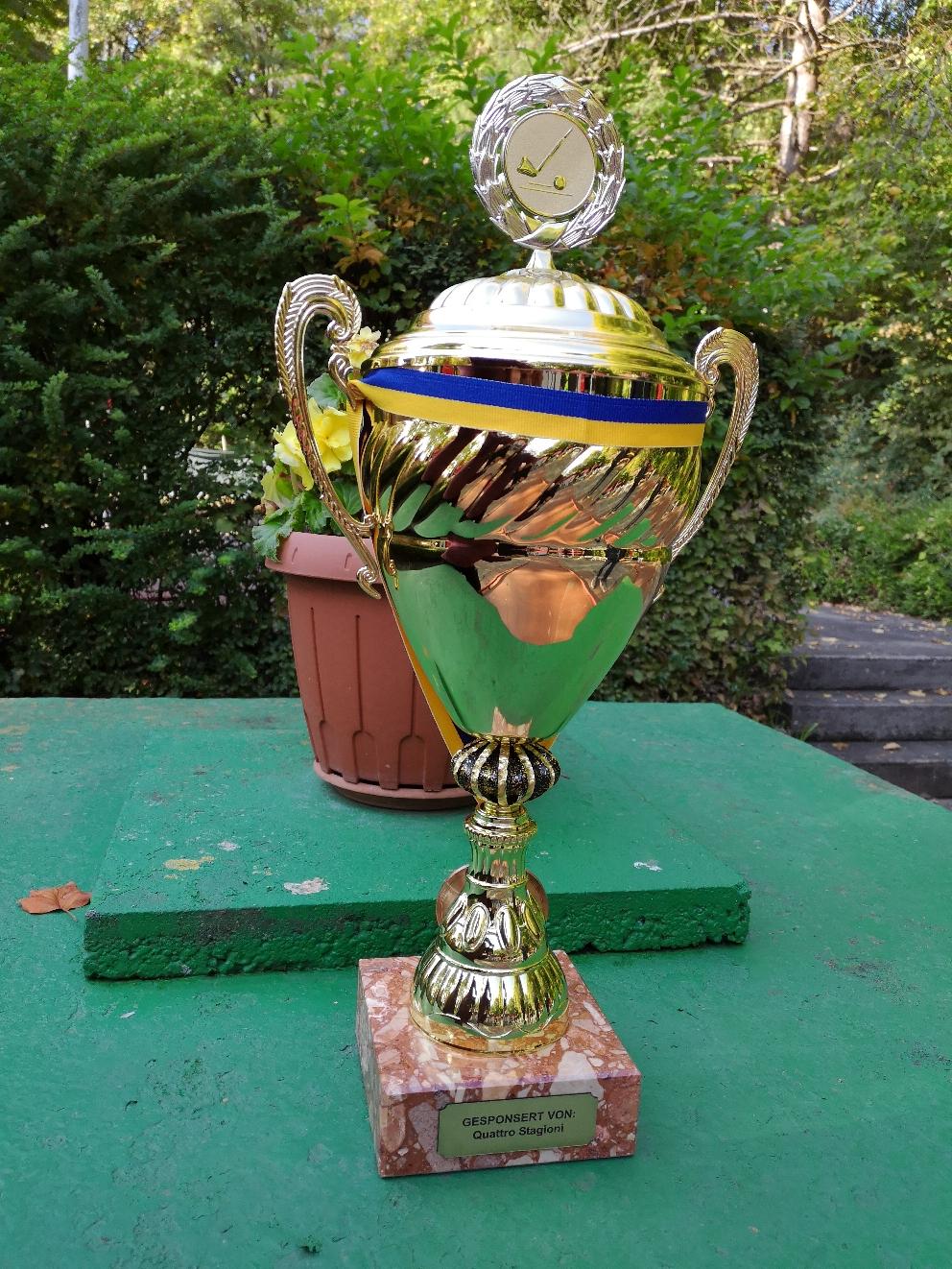 Wanderpokal der Senioren I, Sponsor Quattro Stagioni