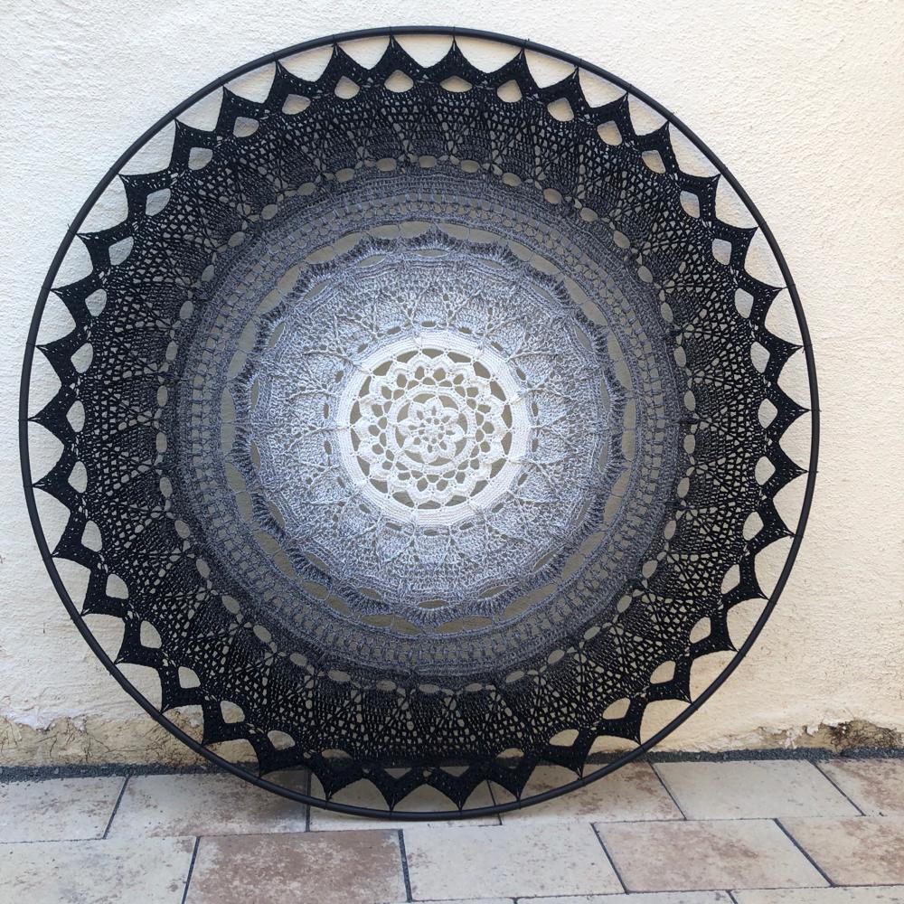 Mandala/Wandbild / 1 Meter Durchmesser