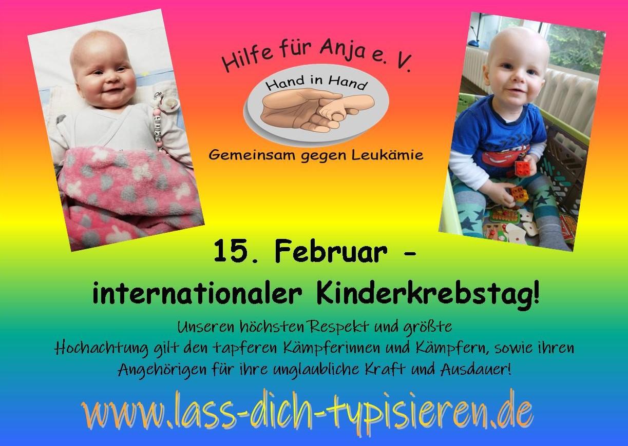 internationaler kinderkrebstag 2019