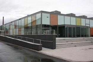Neue Großsporthalle in Bühl (Steinstraße)