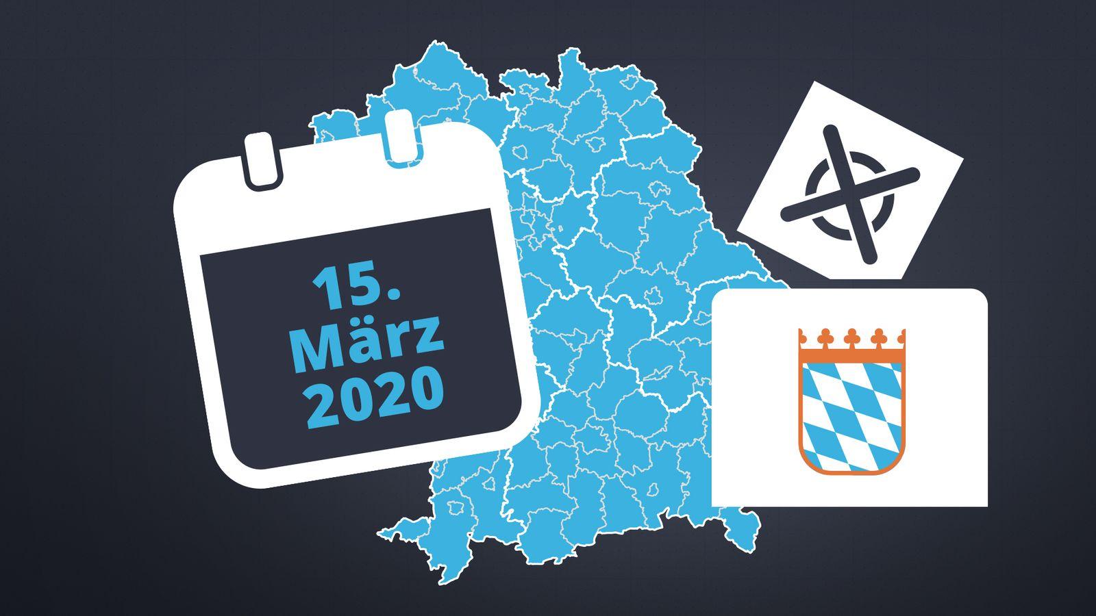 Wahlergebnisse Kommunalwahlen Bayern