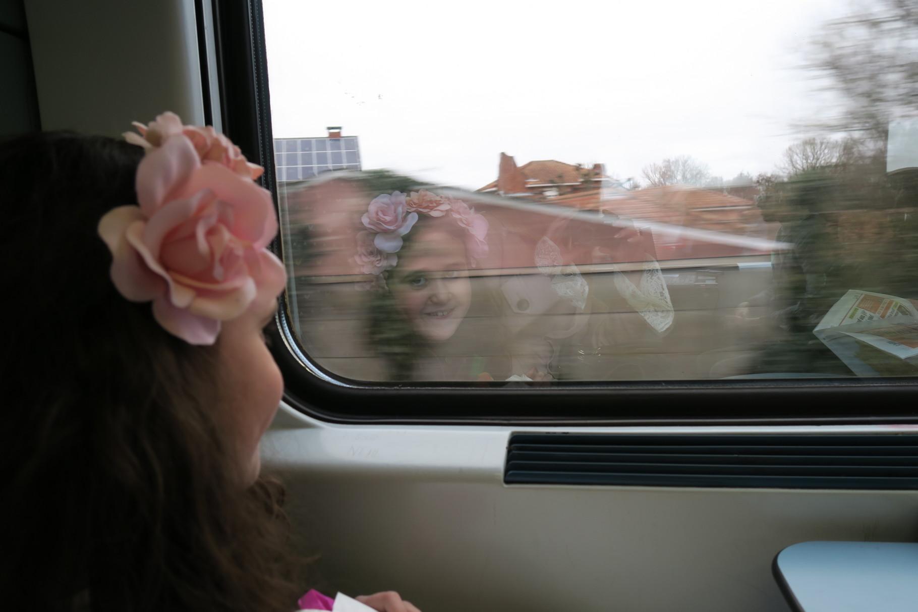 en dan op de trein naar Antwerpen