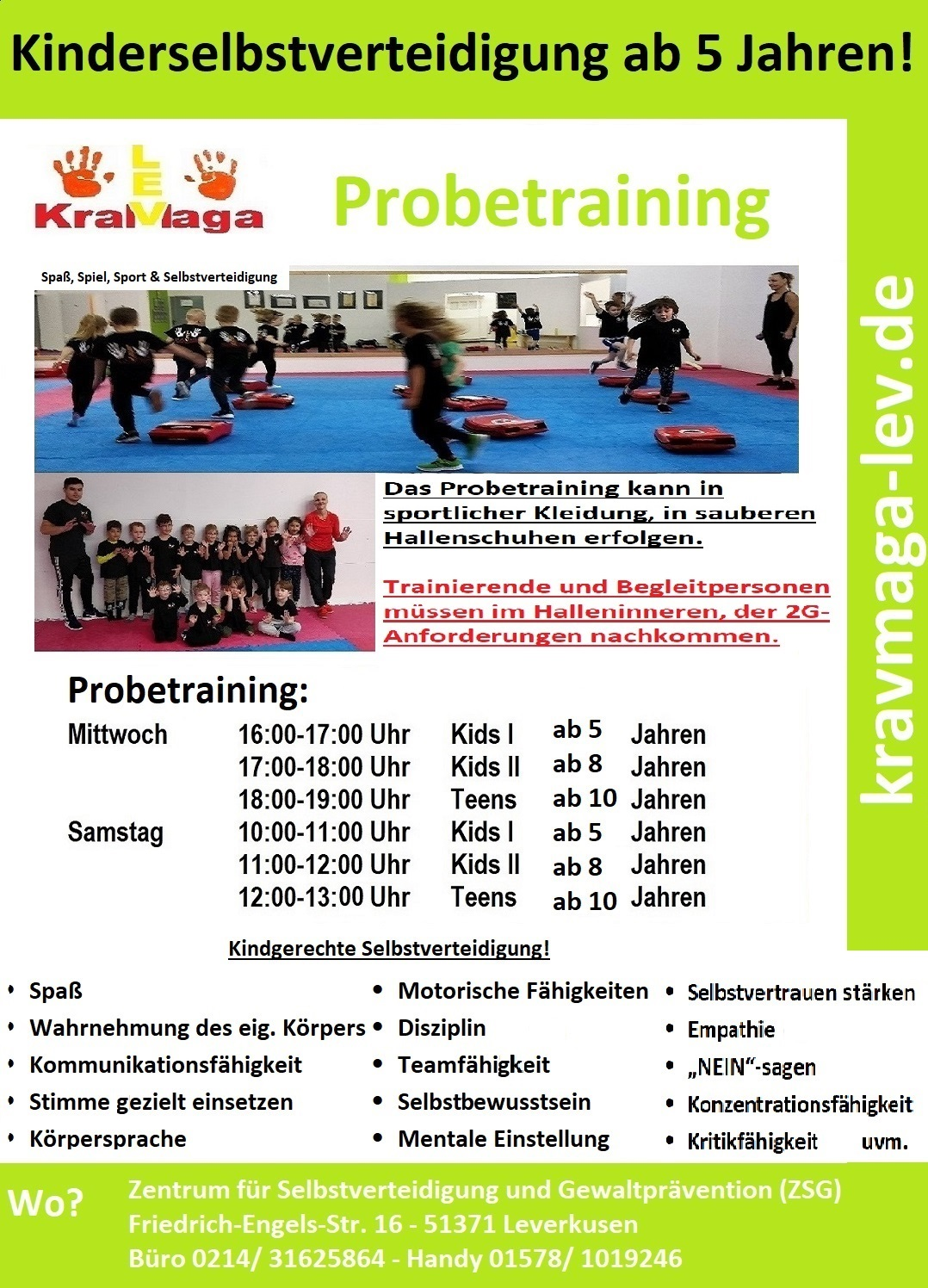 Krav Maga Leverkusen Selbstverteidigung Gewaltprävention Kinder Jugendliche Frauen Kampfsport you can fight Leichlingen Burscheid Langenfeld Monheim Köln Bergisch Gladbach Druckpunkte DKMV