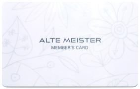 アルテマイスター保志会員カード