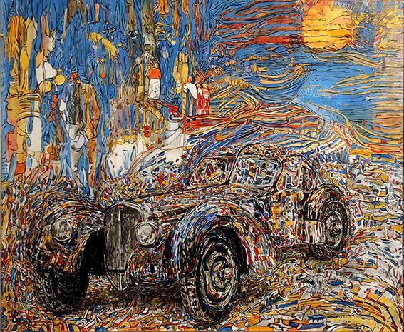 Explosio der Sonne von OLena Romashkina