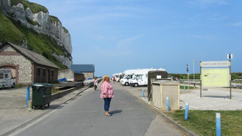 Stellplatz in Saint-Valery-en-Caux