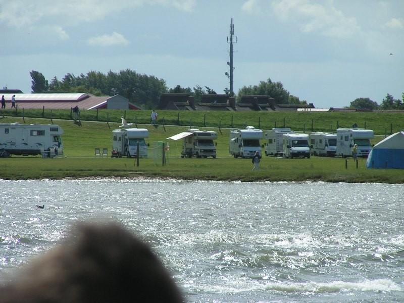 Butjadingen-Burhave (NS)(Nordsee) Stellplatz vor Camping-Knaus