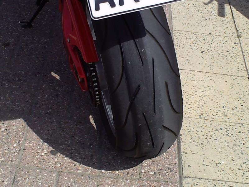 Burn out mit neuen Reifen ??