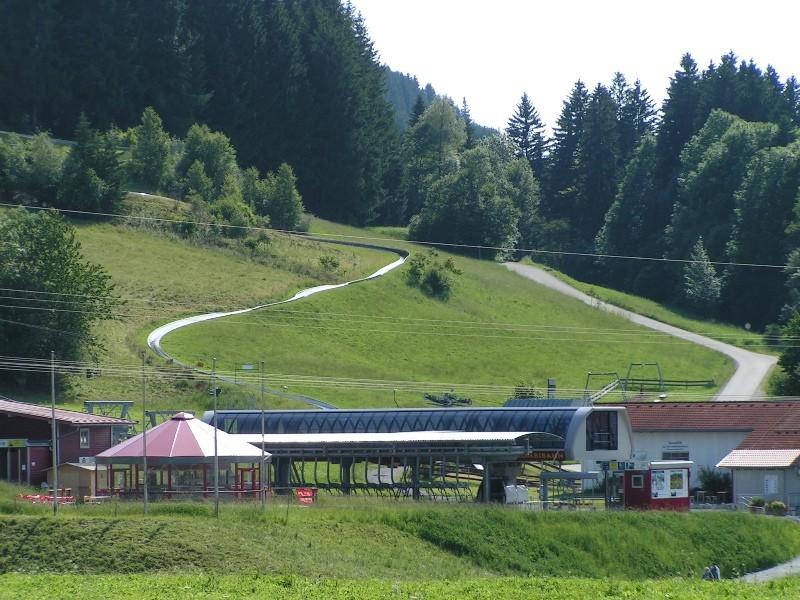 Sommerrodelbahn 1000 m lang