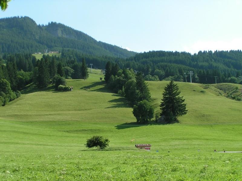 Die 1574 m hohe Alpspitze ist der Nesselwanger Hausberg