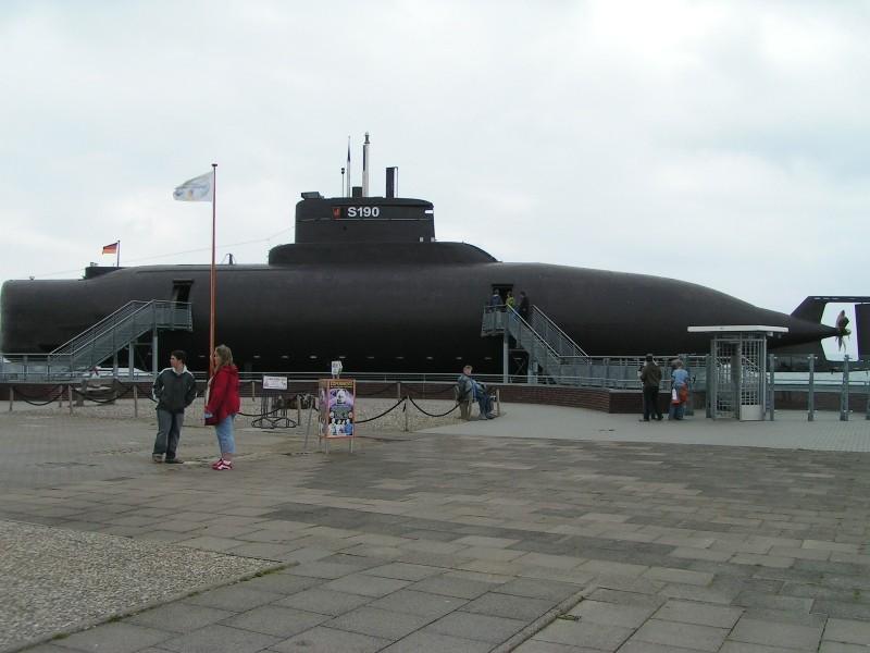 U-Boot auf Fehmarn (SH)(Ostsee)