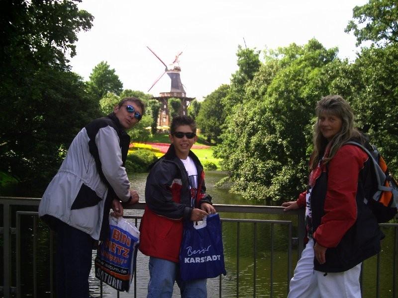 Wir waren auf dem Stellplatz Bremen-Lesum
