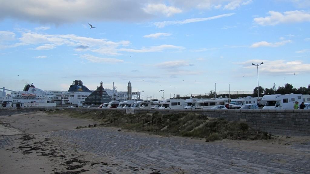 Calais: Stellplatz am Fährhafen