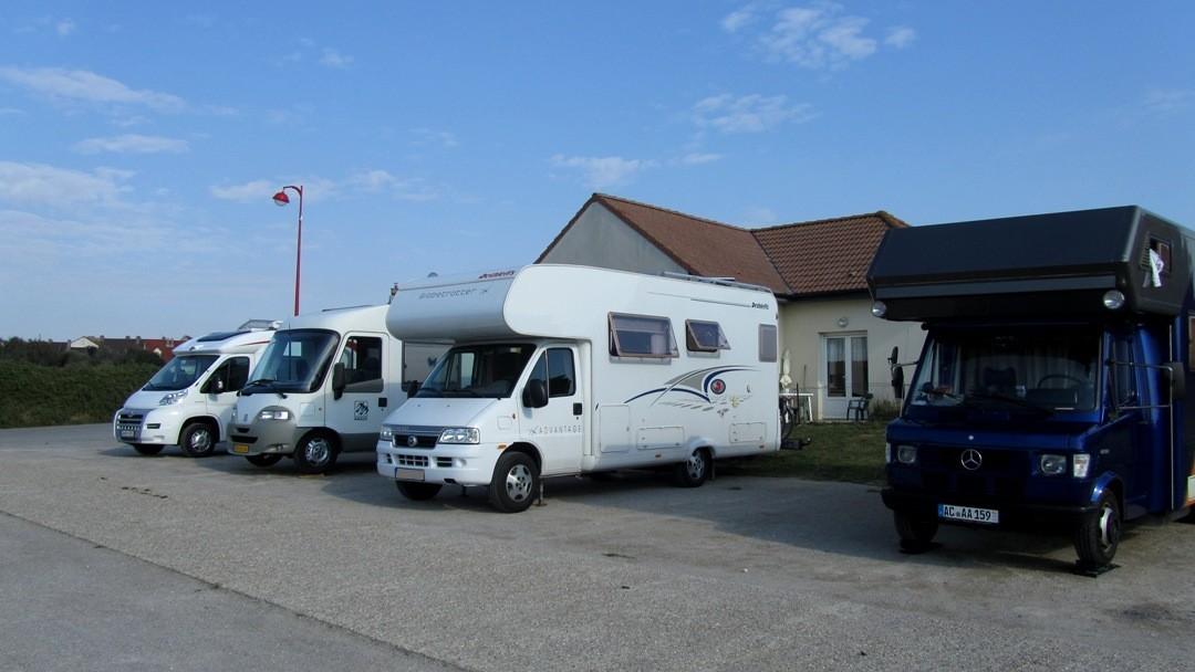 Équihen-Plage Wohnmobilstellplatz