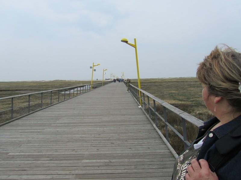 Strandsteg von Sankt Peter Ording Bad