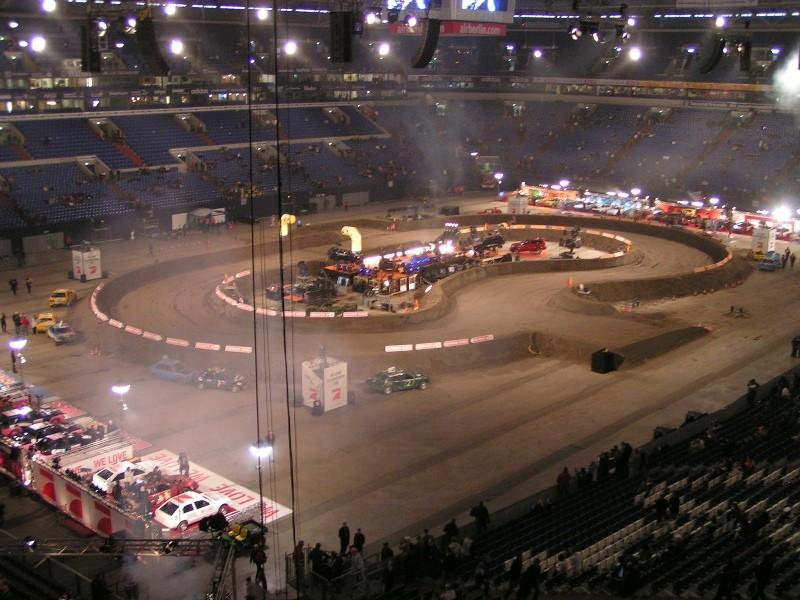 Pro7 Stockcar-Rennen in der Veltins-Arena