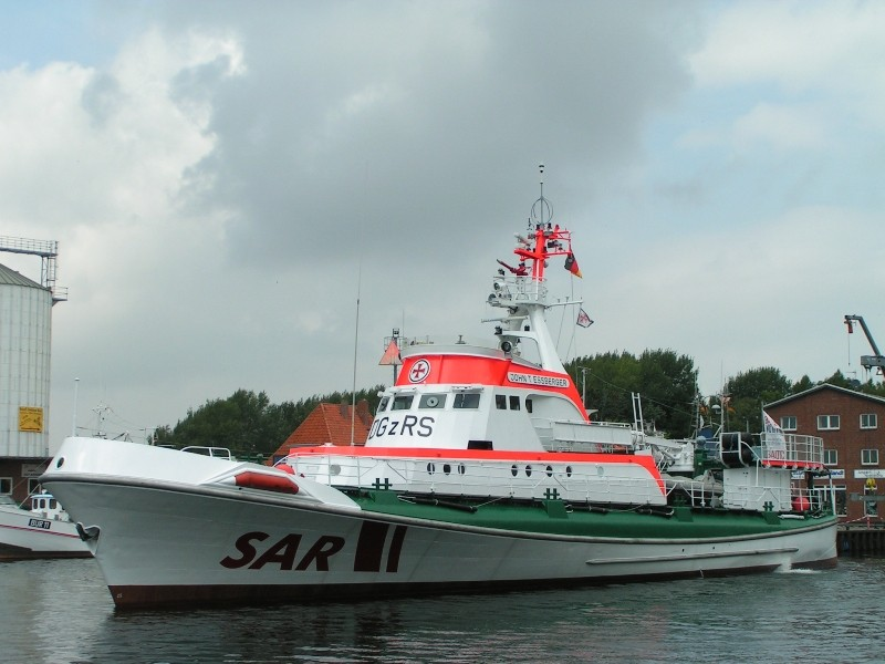 """Seenot-Rettungskreuzer """"John T. Essberger"""" (2011 ausgemustert)"""