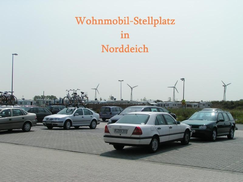 Womo-Stellplatz in Norddeich (NS)(Nordsee)