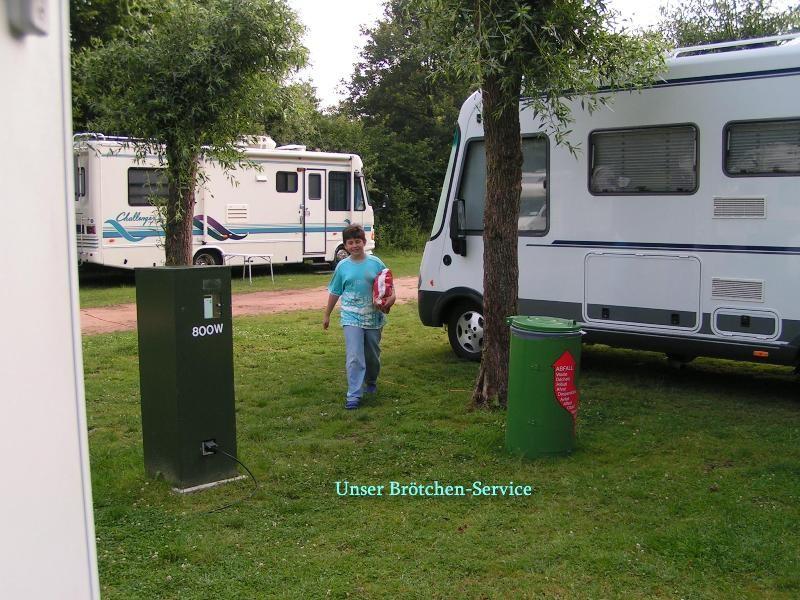 Womo-Stellplatz Gronau (NRW)(Dreiländersee)