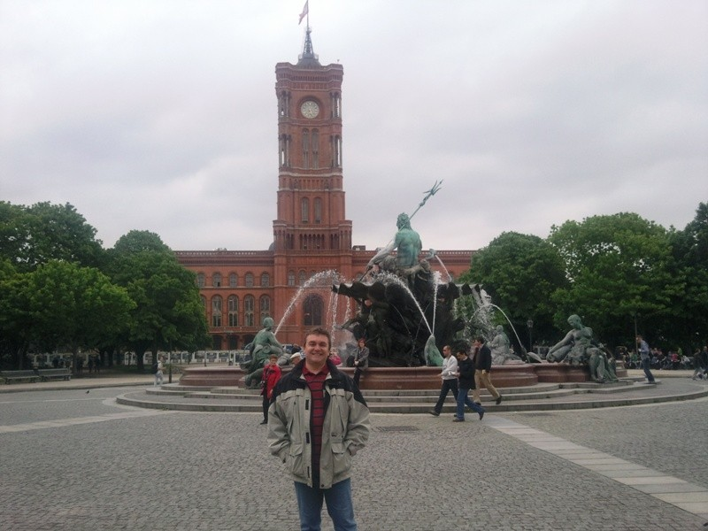 Das Rote Rathaus, Sitz des Berliner Senats