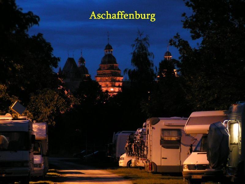 Womo-Stellplatz Aschaffenburg (BY)(Main)