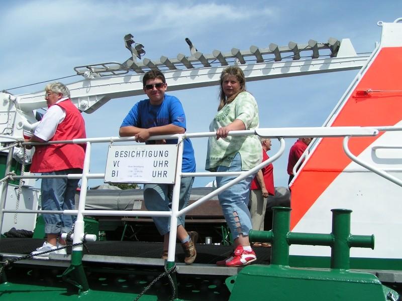 Besichtigung Seenot-Rettungskreuzer (44-m-Klasse)