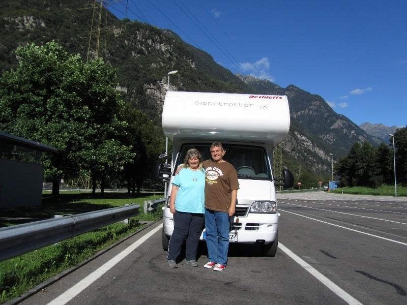 Durch die Schweiz nach Italien
