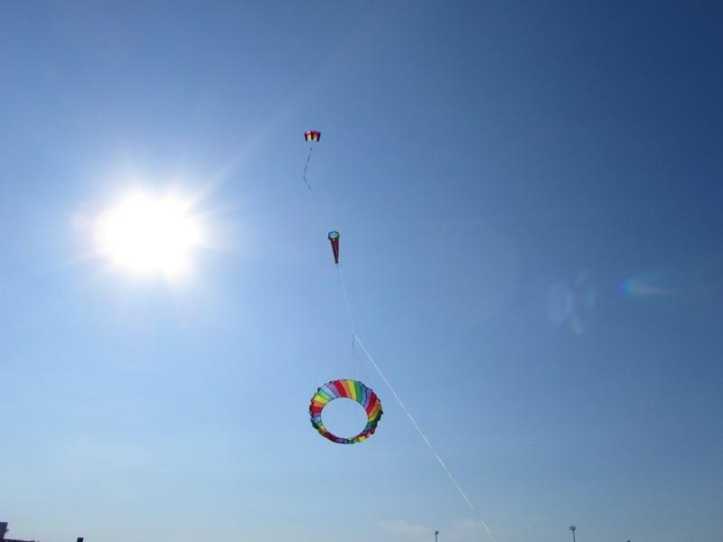 Drachenfliegen in San Mauro a Mare (Italien)