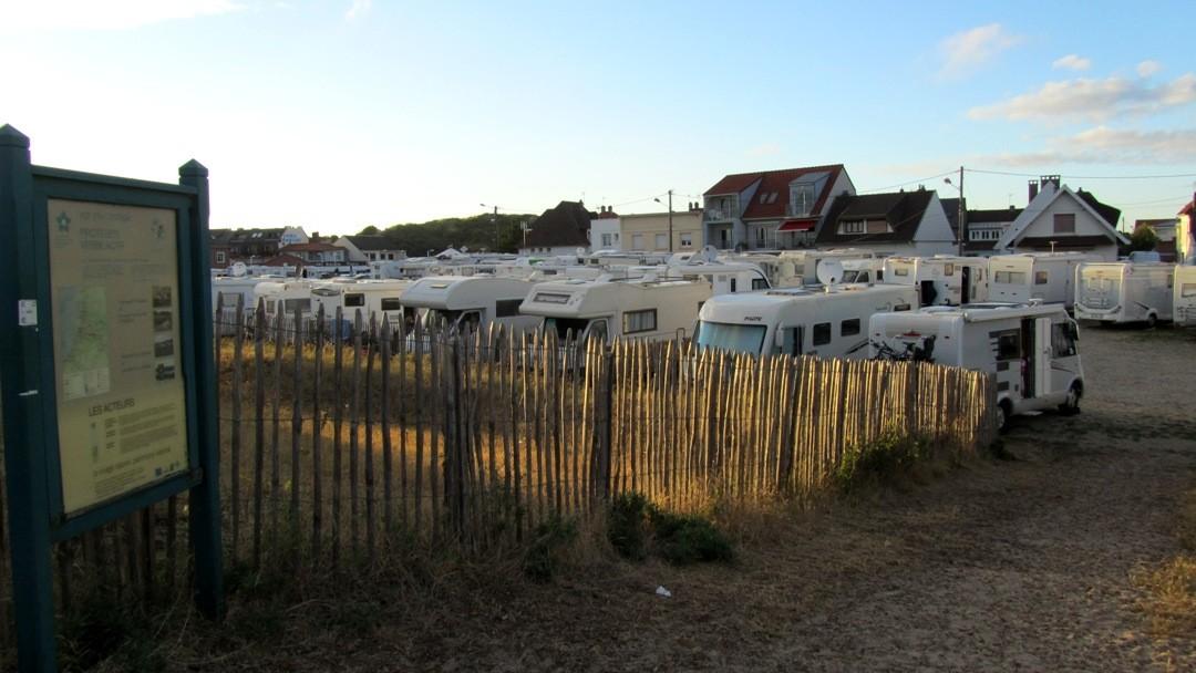 Fort-Mahon-Plage Wohnmobilstellplatz