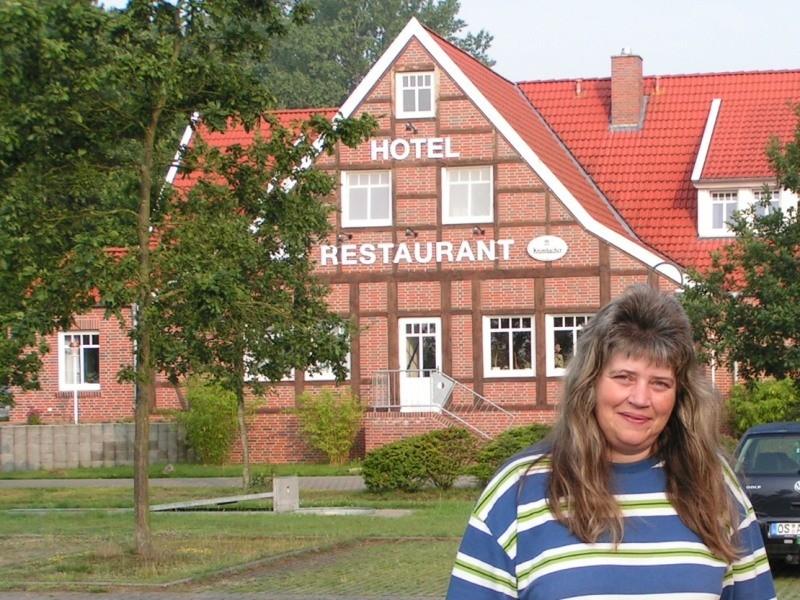 Hotel vor dem Campingplatz in Lathen (NS)