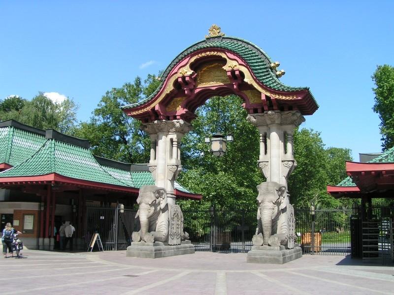 Eingang Berliner Zoo