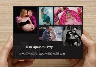 Bon Upominkowy Polskiego Fotografa w Holandii. Zrób Twoim przyjaciołom prezent w postaci sesj zdjęciowej.