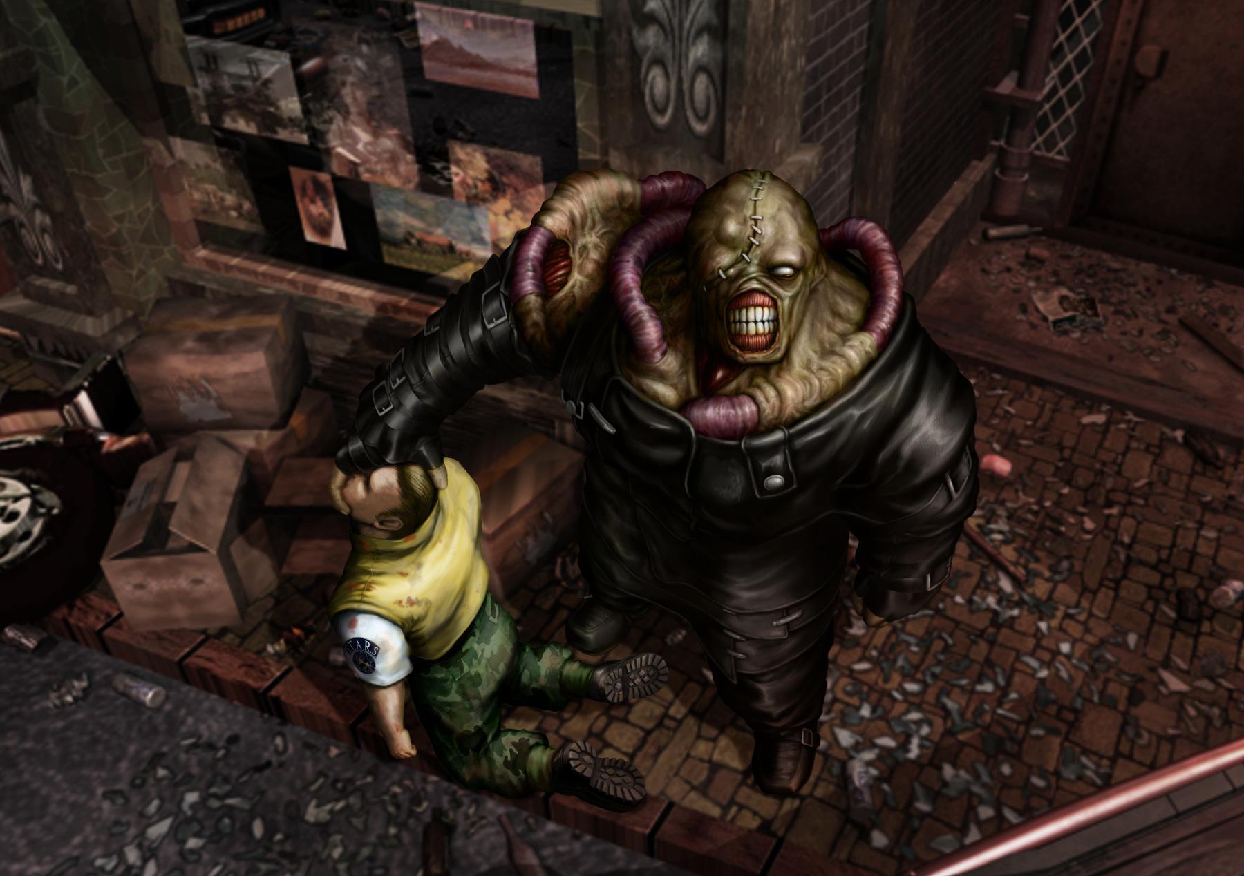 """Die ursprüngliche PlayStation-Version seines Horror-Klassikers """"Resident Evil 3"""" ließ Capcom bereits 1999 auf die Gamer-Gemeinde los. 2003 bringt Capcom eine kosmetisch aufpolierte Fassung für Nintendos Gamecube."""