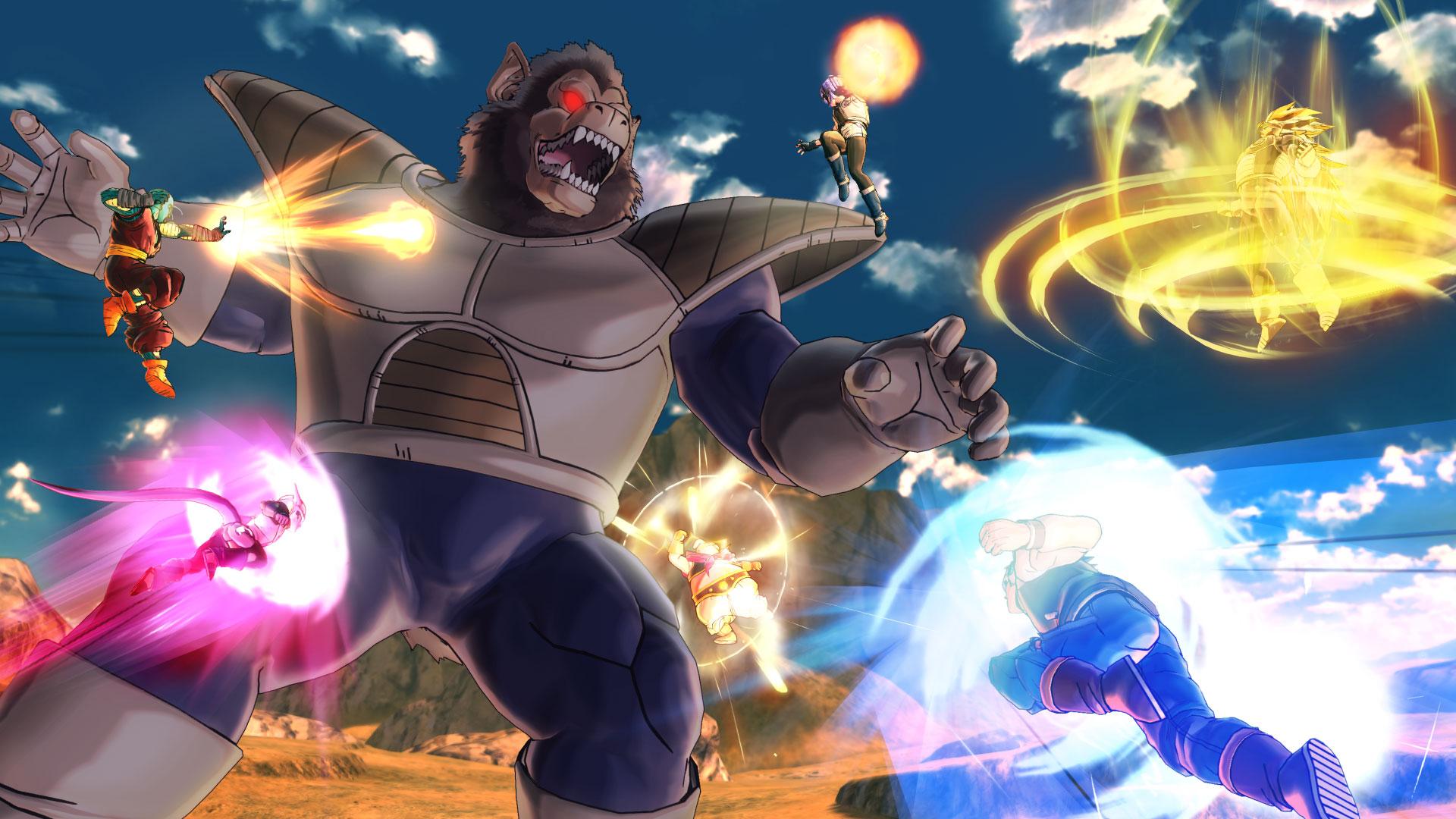 """Brachiale und Effekte-geladene Keilereien in Akira Toriyamas """"Dragon Ball""""-Universum: """"Xenoverse 2"""" macht da weiter, wo der erfolgreiche Vorgänger aufgehört hat. (28.10. für PC, PS4, XBO)"""