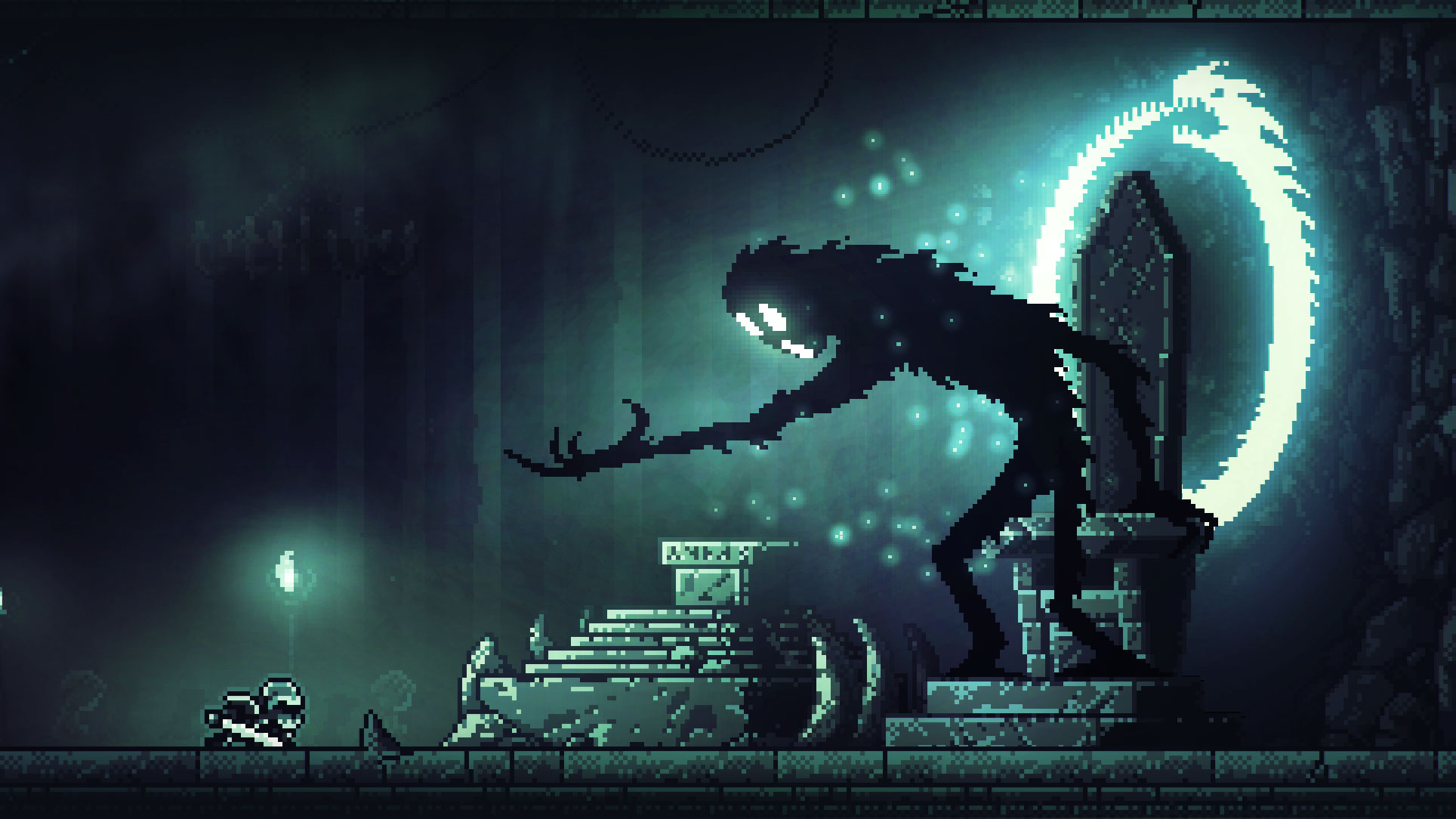 """Wunderschöne Pixel-Bilder verspricht der Puzzle-Platformer """"Inmost"""" von Chucklefish und Hidden Layer Games."""