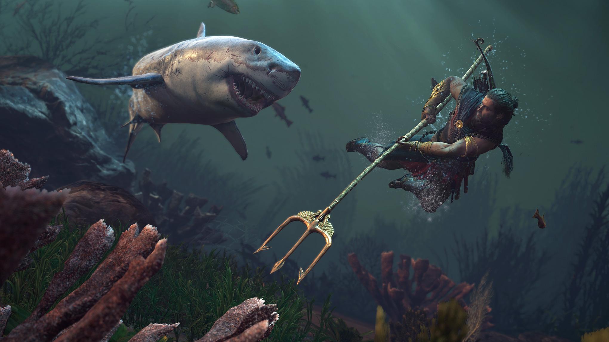 Unter Wasser erschweren Raubfische und Sauerstoffknappheit das Heldenleben.