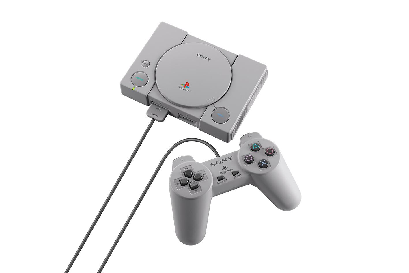 Wie bei Nintendos Miniatur-Konsolen hat der Controller die Original-Größe von damals.