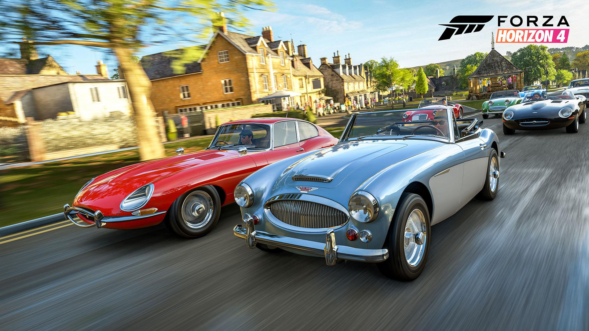 """Racing-Spaß auf der Insel: """"Forza Horizon 4"""" hat die Pole-Position für das beste Rennspiel geschafft."""