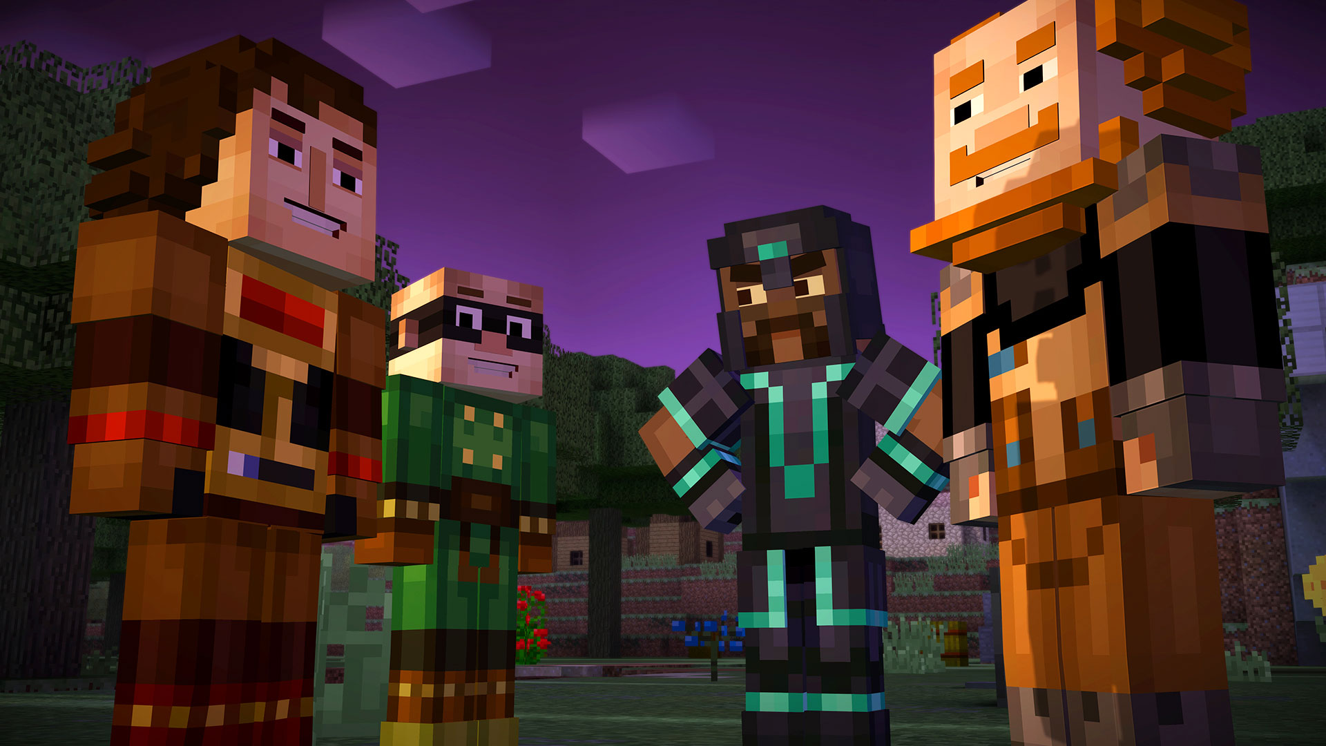 """Man kann's auch übertreiben: Nicht mal vor Mojangs Kreativ-Hit """"Minecraft"""" machte die Telltale-Mannschaft halt. Auch die Klotzkopf-Welt wurde in eine Adventure-Reihe nach Interactive-Movie-Art verwandelt."""