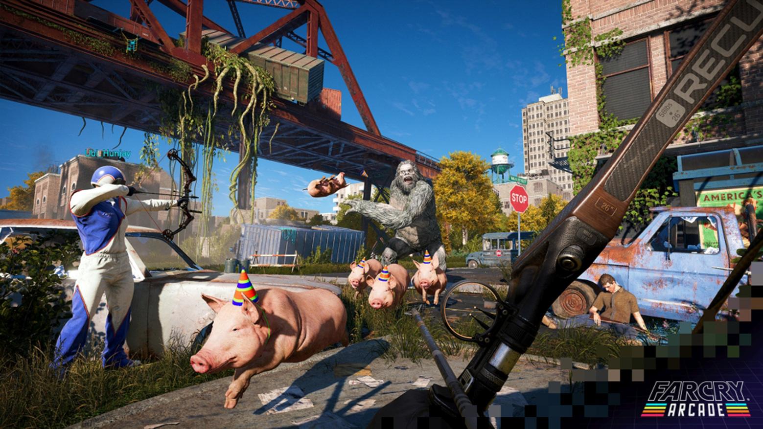 """Shooter-Welten im Eigenbau: Der """"Far Cry Arcade""""-Modus."""