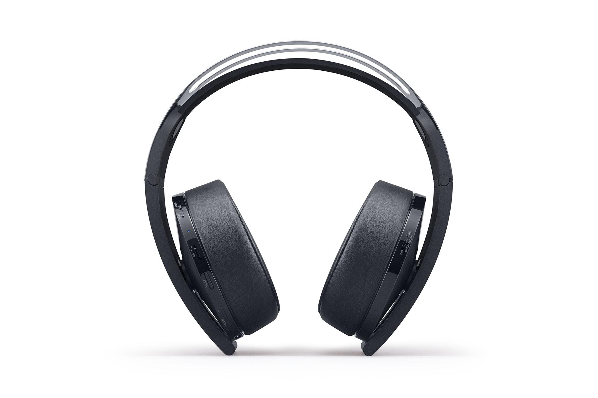 7.1-Unterstützung und 3D-Sound-Technologie von Sony: Das Platinum-Headset kommt mit Mikro und macht ordentlich Krach.