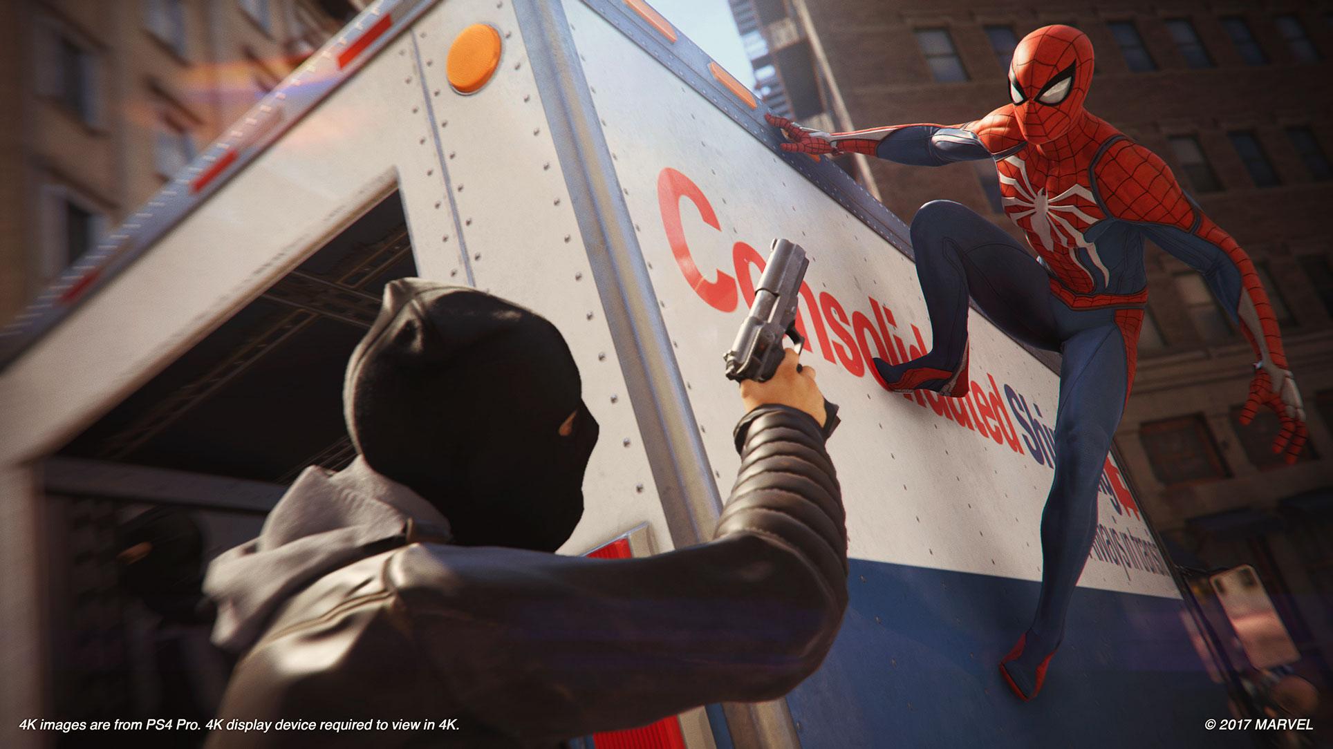 Abseits der Kampagnen-Missionen schlägt sich Spider-Man vor allem mit Kleinkriminellen herum.