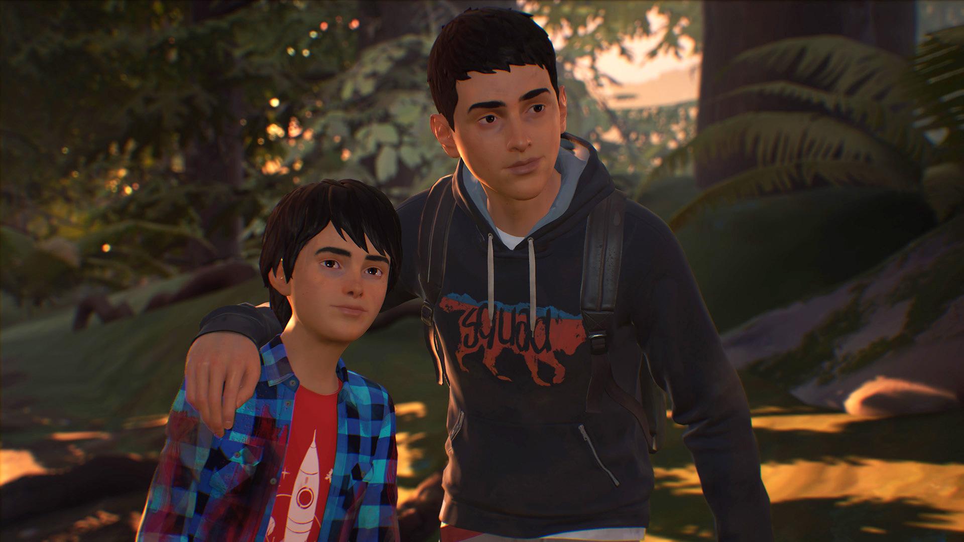 Stattdessen rückt ein brüderliches Gespann in den Vordergrund: Sean und sein kleiner Bruder Daniel flüchten aus ihrer Heimatstadt nach Mexiko.