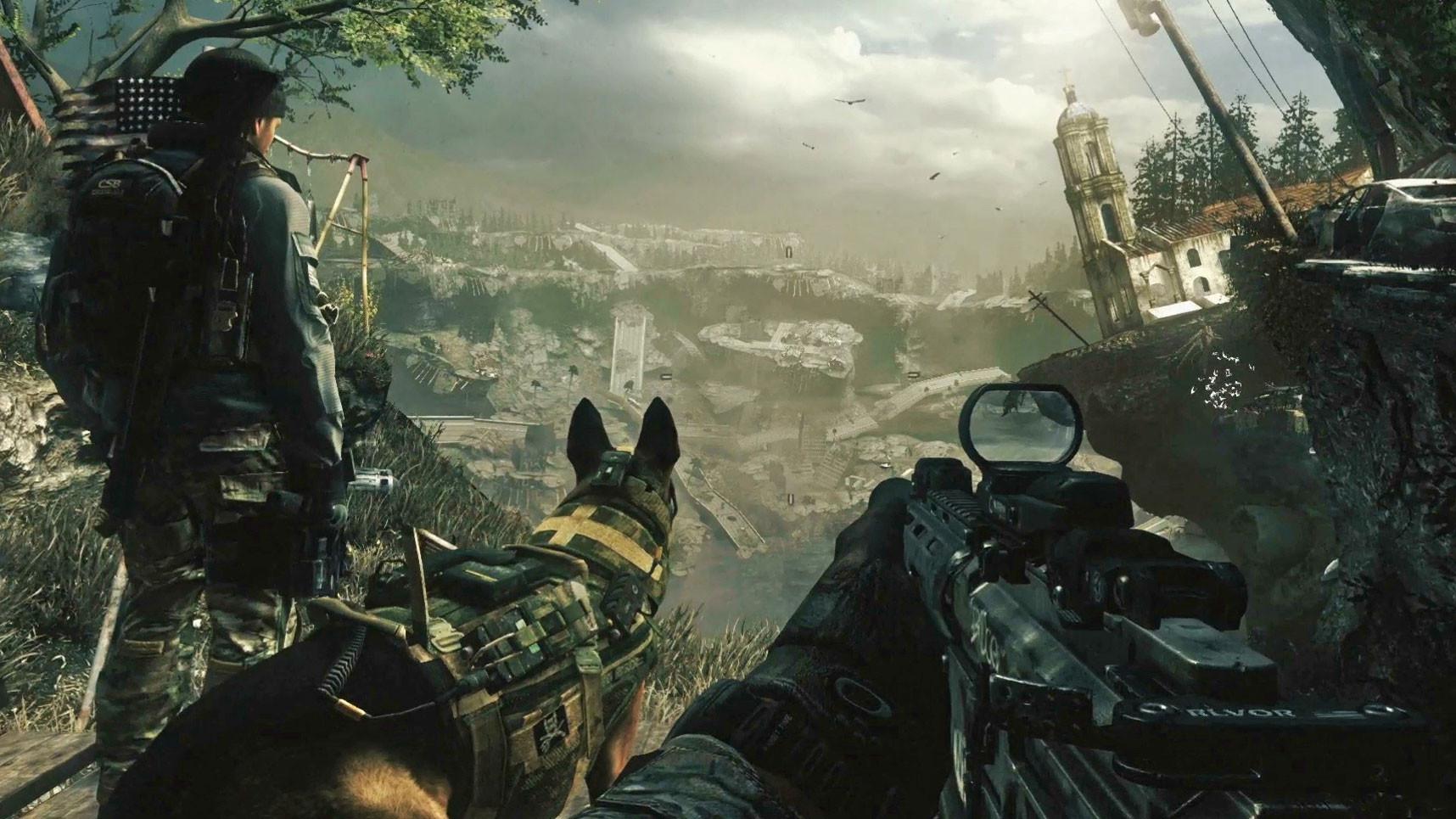"""""""Call of Duty: Ghosts"""" wurde wg. der Zugehörigkeit zur erfolgreichen Military-Shooter-Reihe nicht als post-apokalyptischer Titel wahrgenommen –doch die durch ihre eigenen Weltraum-Waffen in Stücke zerschossenen USA sind hier der eigentliche Star."""