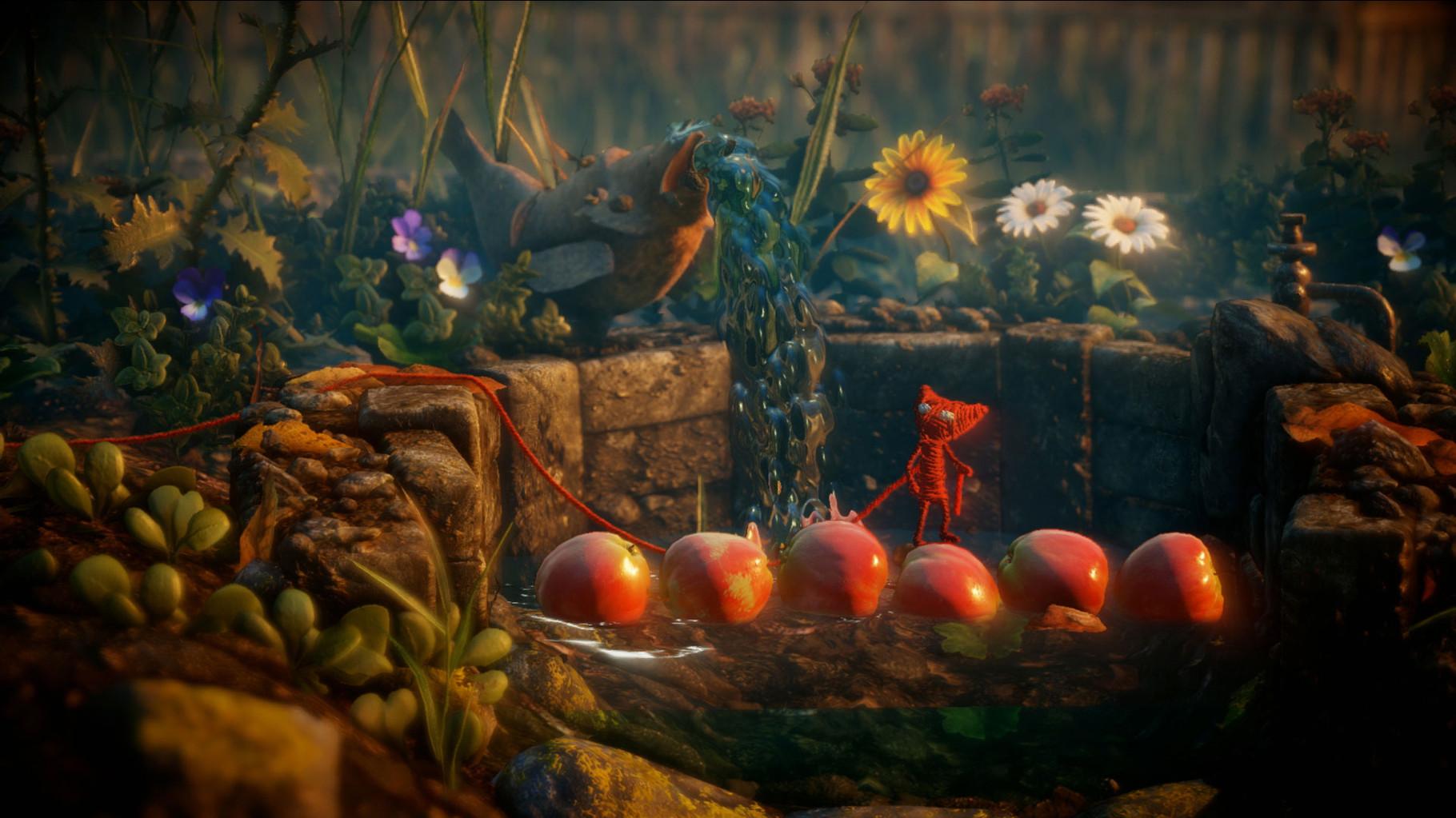 Unravel: Wer auf kunstvolle Jump'n'Run-Projekte fliegt, der könnte sich in EA's Hupf-Projekt regelrecht verlieben: Ein Garn-Männlein geht auf große Reise und zieht dabei buchstäblich einen roten Faden durch die Level-Struktur. Imposant und anrührend!