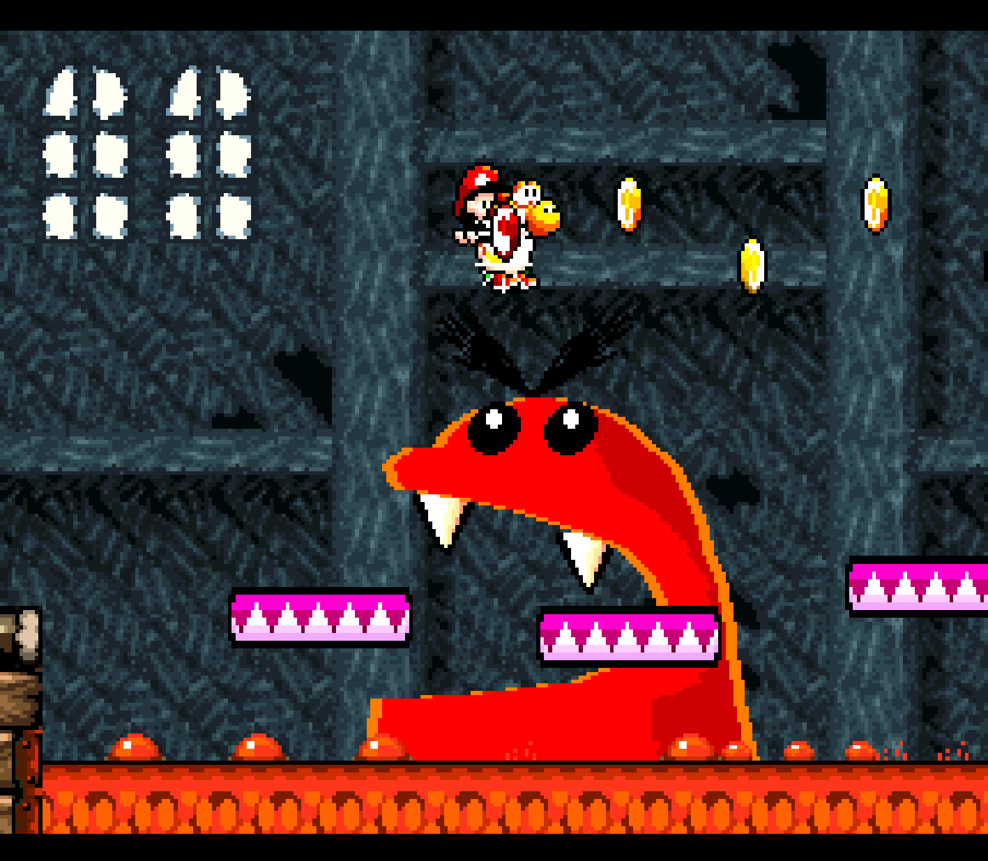 """... oder """"Yoshi's Island"""" auf der Switch spielbar. Passend dazu gibt's einen Retro-Controller im SNES-Look"""