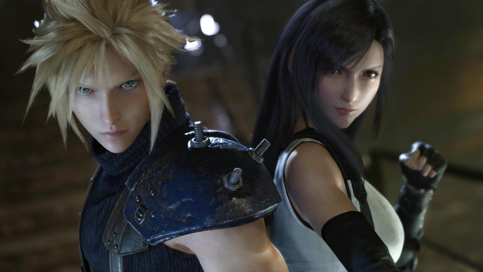 """Darauf mussten Fans lange warten: Die Helden aus dem PS-One-Klassiker """"Final Fantasy 7"""" geben sich März 2020 noch mal die Ehre."""